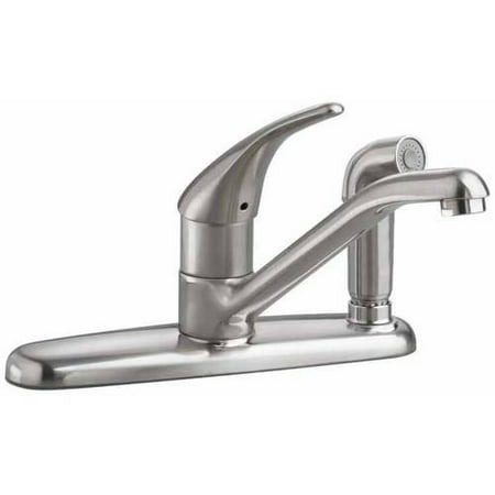 American Standard 4175.503.F15.002 Colony Soft 1.5 GPM Kitchen Faucet with Color-Matched Sprayer thru Escutcheon, Available in Various Colors