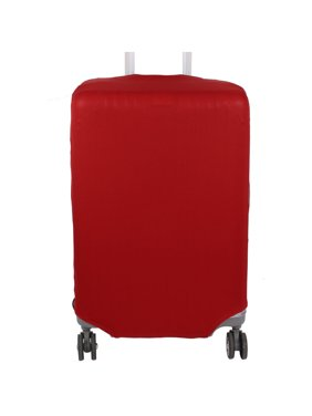 Suitcase Elastic Polyester Anti-scratch Dustproof Protector Cover Red 26-30 Inch