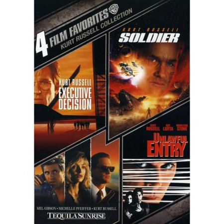 4 Film Favorites  Kurt Russell   Soldier   Tequila Sunrise   Executive Decision   Unlawful Entry  Widescreen