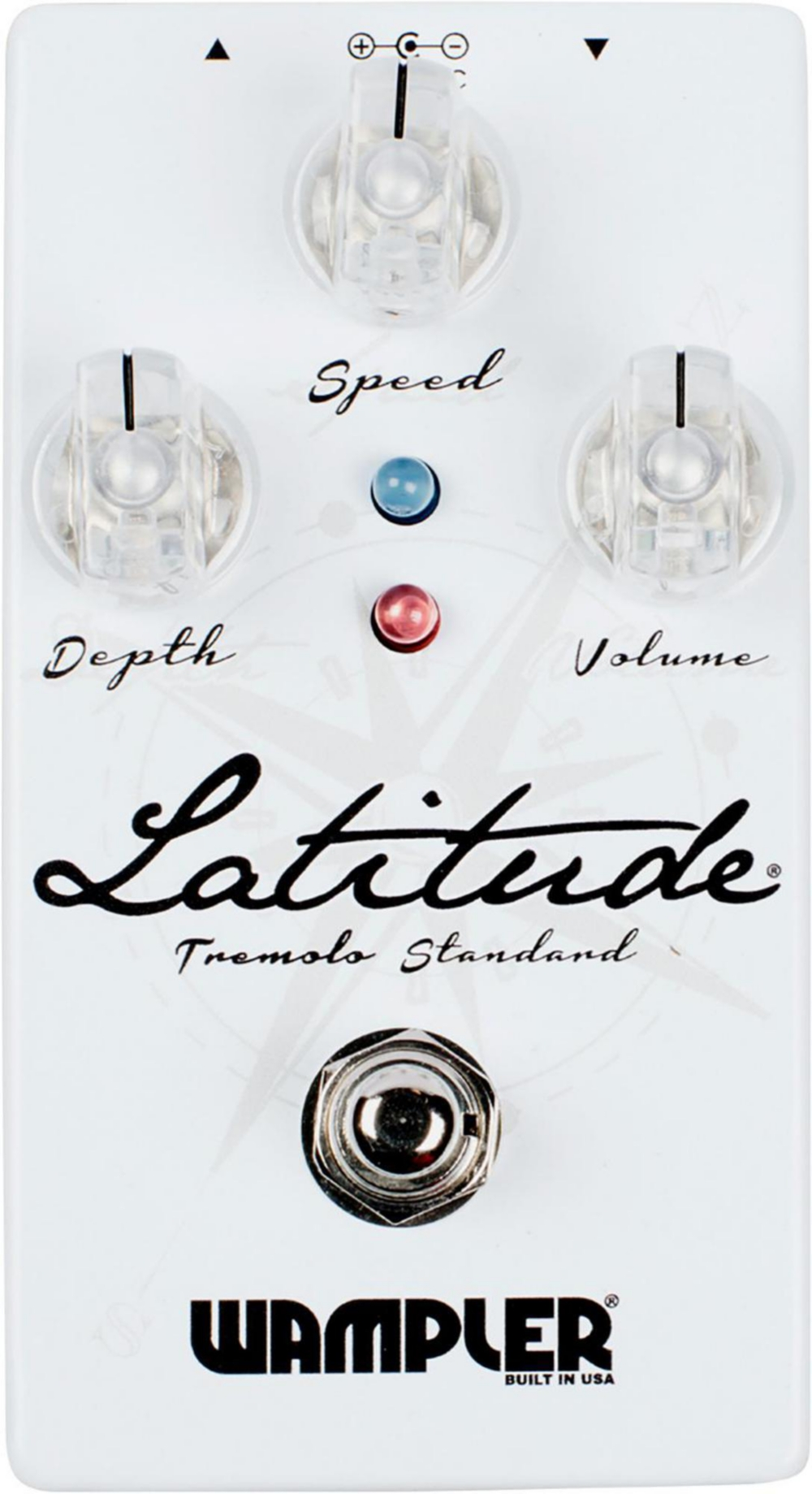 Wampler Latitude Standard Tremolo Pedal by Wampler