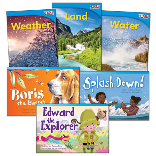 Explore Earth Book Set (Set of 6)