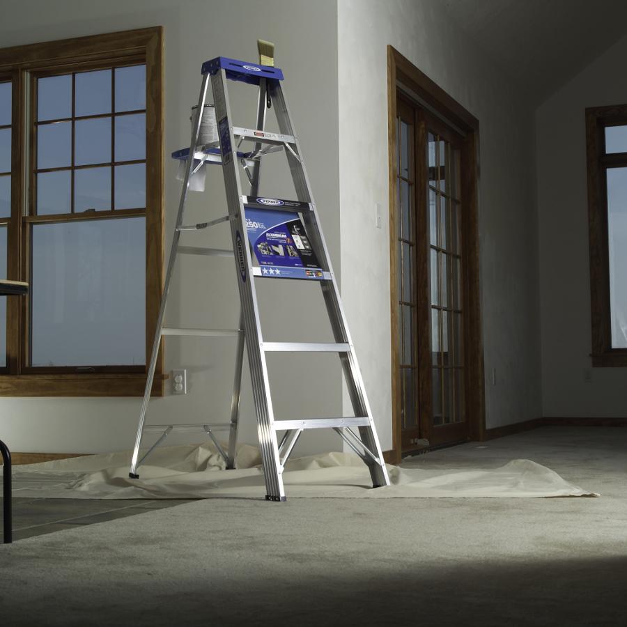 Werner 366 6' Aluminum Step Ladder