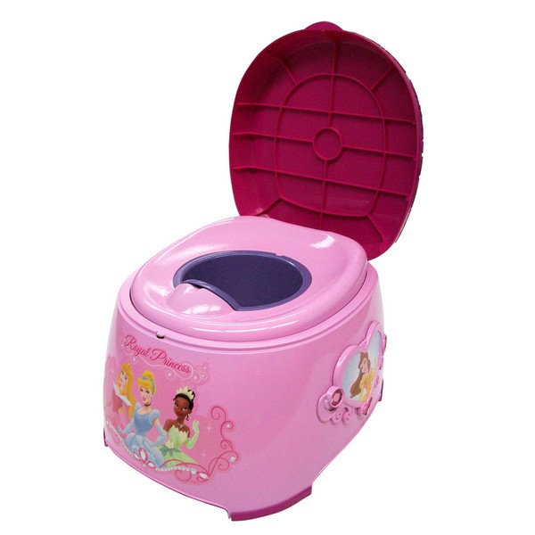 Disney Princess 3 In 1 Potty Trainer, Pink