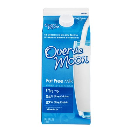 Over The Moon Fat Free Milk 17