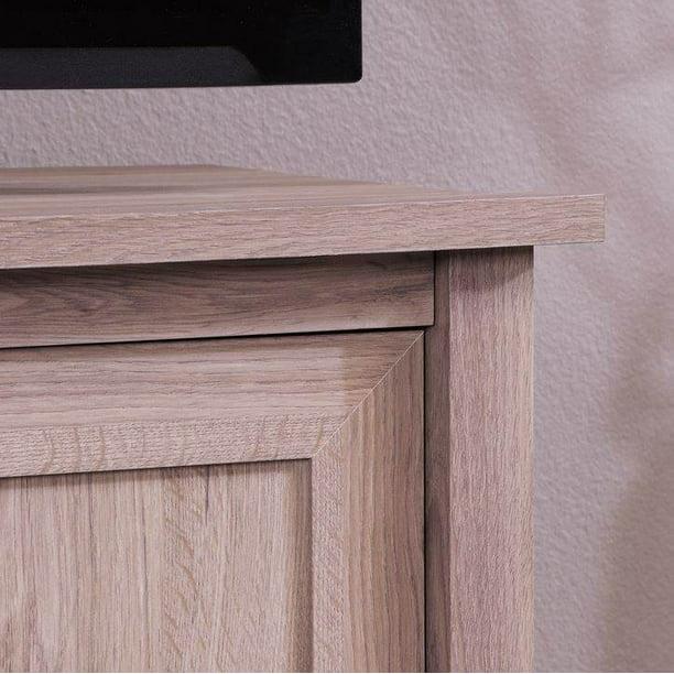 Sauder Furniture County Line Salt Oak Adjustable TV Entertainment Stand | 417772
