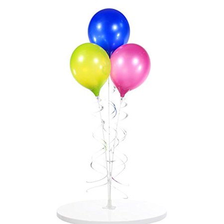 Table Top 3 Balloon Bouquet - Reusable and Helium Free