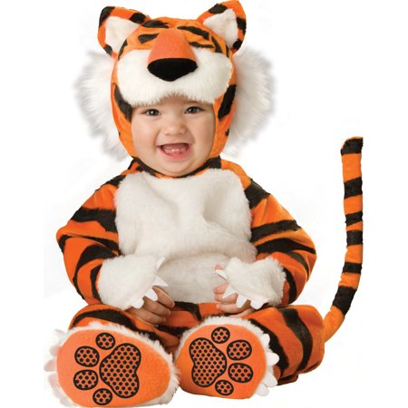 Tiny Tiger Stripped Kitten Cat Infant Baby Animal Halloween Costume](Pebbles Halloween Costume For Baby)