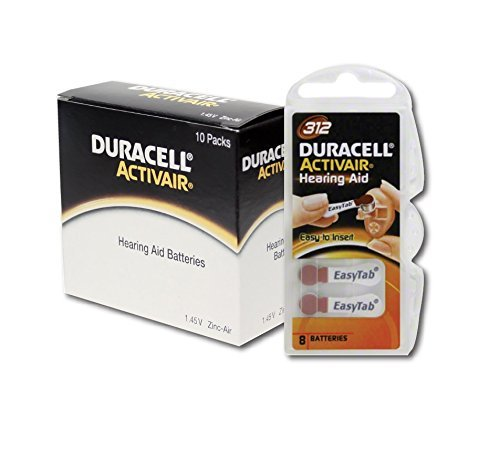 photograph relating to Duracell Hearing Aid Batteries 312 Coupons Printable identified as Duracell listening to guidance batteries dimensions 312 (80 pack)