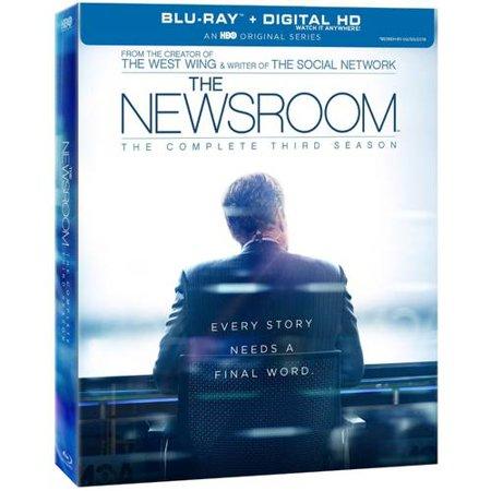The Newsroom  The Complete Third Season  Blu Ray   Widescreen