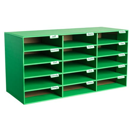 AdirOffice Classroom 15 Compartment Cubby