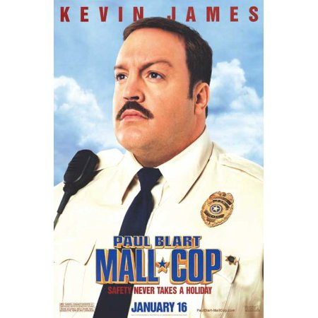 Paul Blart: Mall Cop 27 x 40 Movie Poster - Style A, Paul Blart: Mall Cop 27 x 40 Movie Poster - Style A By
