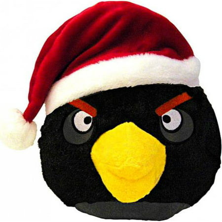 angry birds black bird plush christmas - Christmas Angry Birds
