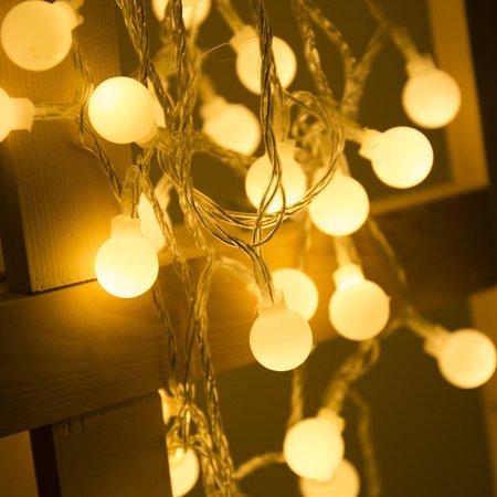 LOHAS LED Fairy String Light, 40 LEDS 16ft/5m Garden Home Party Wedding Festival Decorations Battery Operated Lights(Warm)](Fairy Party Decorations)