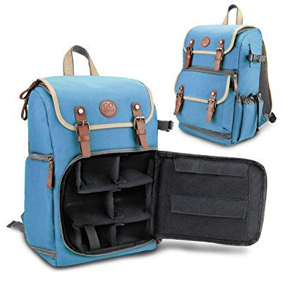 Accessory Power GOgroove Bags and Cases Camera Backpack, Blue