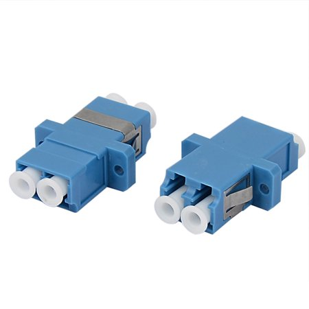 LC-LC Duplex Singlemode Optical Duplexer Bare Optic Fiber Connector 2pcs