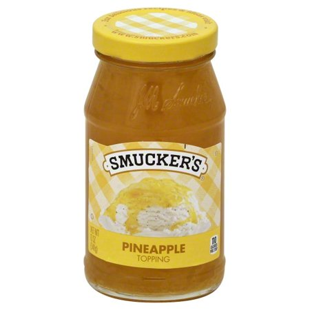 (3 Pack) SmuckerâsPineapple Spoonable Topping, 12-Ounce (Pineapple Jam)