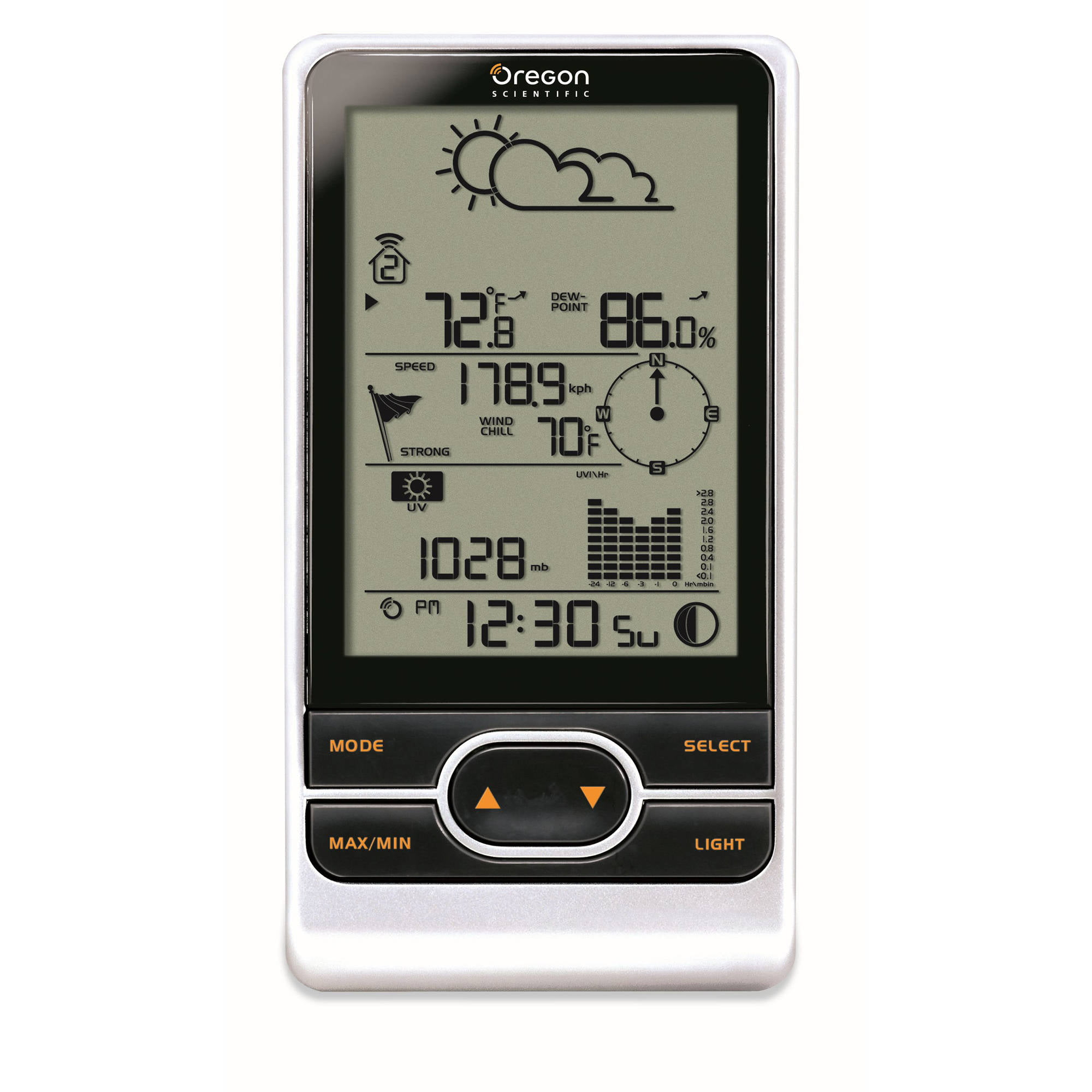 Backyard Pro Wireless Weather Station by Oregon Scientific