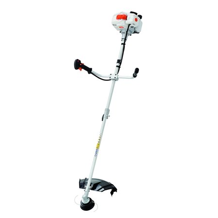 Sunseeker 52cc Gas 2-Cycle 2-in-1 Straight Shaft Grass Trimmer with Brush Cutter Blade and Bonus Harness