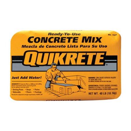 - CONCRETE MIX 40#QUIKRET