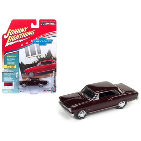 1965 Chevrolet Nova SS Madeira Maroon Poly Ltd Ed 1800pc Hobby Exclusive