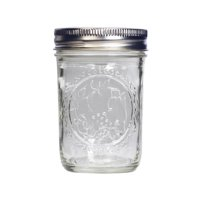 New 806852  Ball Glass Jar 8Oz Display Box (12-Pack) Others Fancy Shape Cheap Wholesale Discount Bulk Glass Vases Others Fancy Shape Dove