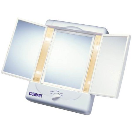 Double Sided Lighted Makeup Mirror Walmart Com
