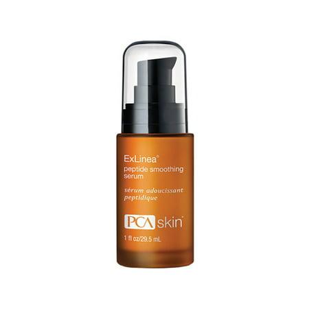 PCA SKIN Exlinea Peptide Smoothing Facial Serum, 1 Oz (Peptide Plus Treatment Serum)