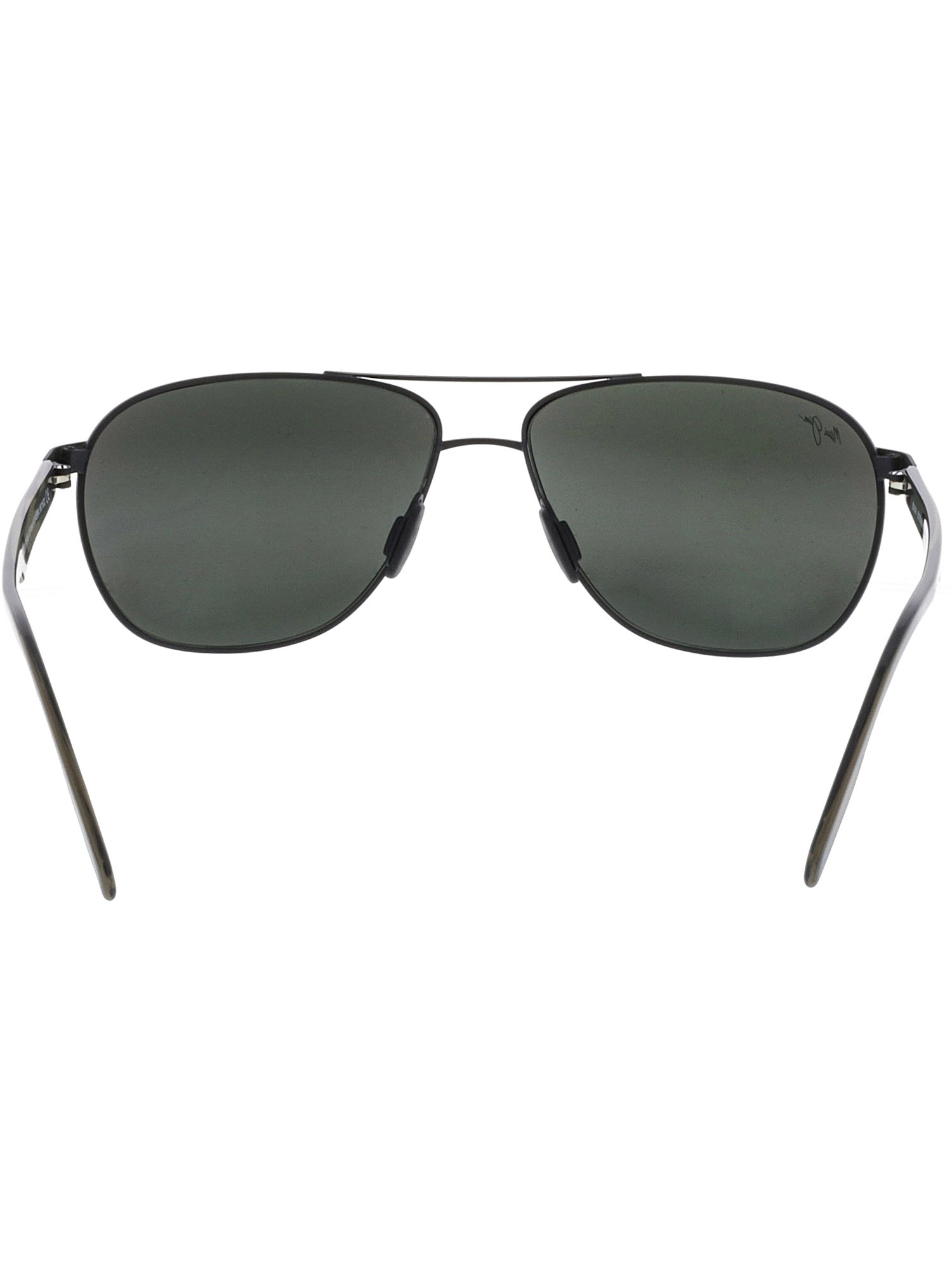 5daf5eca365c Maui Jim - Maui Jim Men's Polarized Castles 728-2M Black Aviator Sunglasses  - Walmart.com