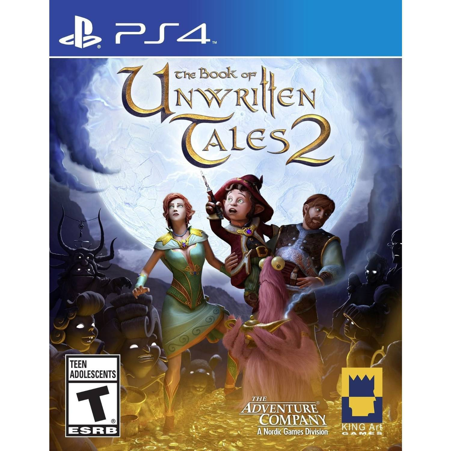 Book Of Unwritten Tales 2 (PS4)
