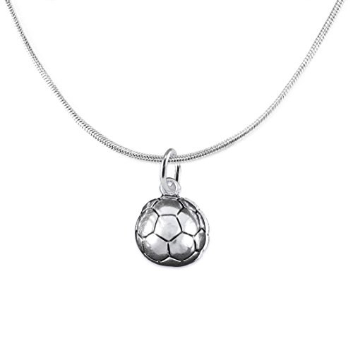 "The Perfect Gift, "" Soccer Jewelry Adjustable Necklace"" ©2016 Hypoallergenic Earring, Safe-Nickel, Lead Free"