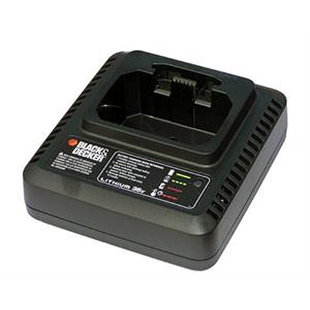 Leaf Charger - Black and Decker OEM Replacement Charger for the LSWV36 Cordless Blower # 90601950N