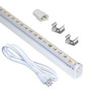 "Jesco Lighting KIT-S20112-A 12"" LED Sleek Plus Adjustable Under Cabinet Kit"