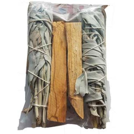 New Age Smudge Stick California Whate Sage Palo Santo Clear Negativity Create Your Sacred Space By Cleansing Purification Consecration Incense Of The Ancients 4