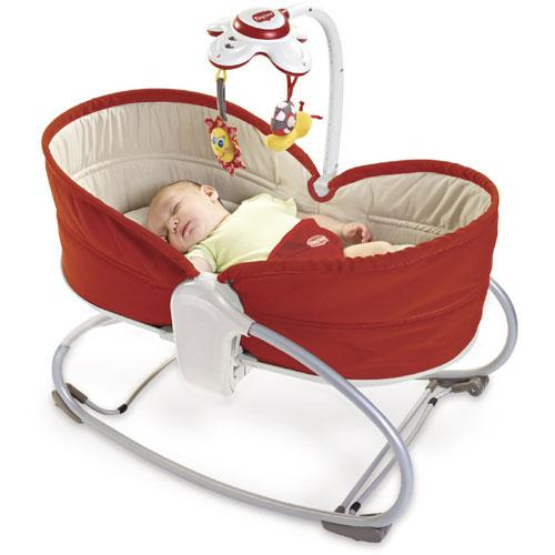 Tiny Love 517 - 3 in 1 Rocker Napper - Red