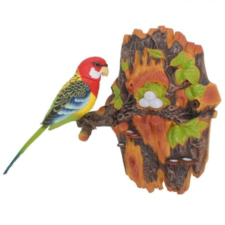 Electronic Bird (Motion Sensor Activated Bird, Chirping & Dancing Bird, This toy has a motion sensor that allows it to react to motion.)