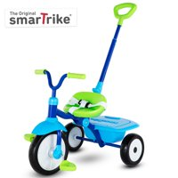 smarTrike Folding Fun, 2-in-1 Toddler Tricycle 15M+ - Blue