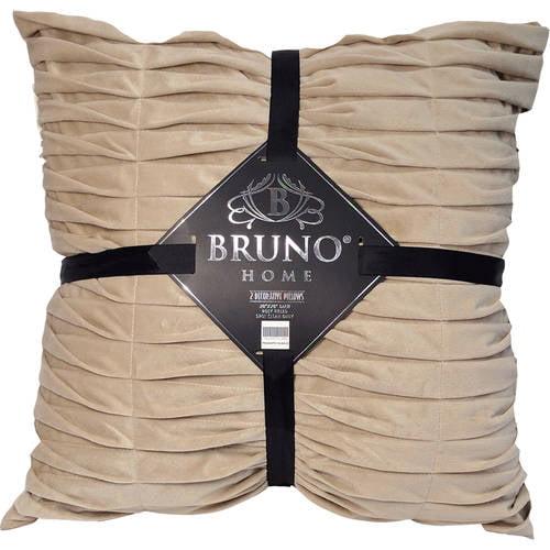 Bruno Home Decor 2pk Plush Decorative Pillows by