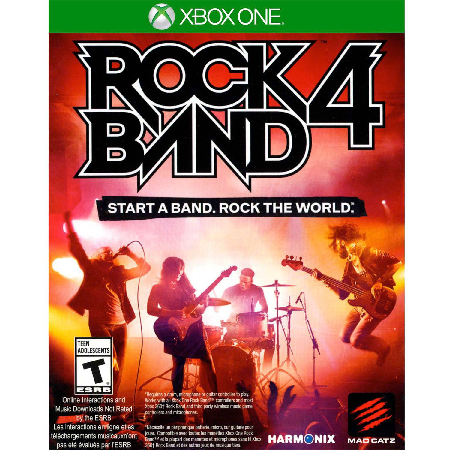 Rock Band 4 Game Only (Xbox One) - Pre-Owned