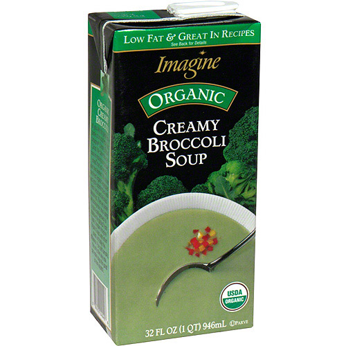 IMagine Foods Natural Creations Creamy Broccoli Soup, 32 oz (Pack of 12) by Generic