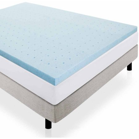 Lucid 2 Quot Gel Infused Ventilated Memory Foam Mattress