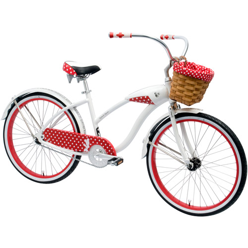 "26"" Huffy Women's Limited Edition Disney Minnie Mouse Cruiser Bike"