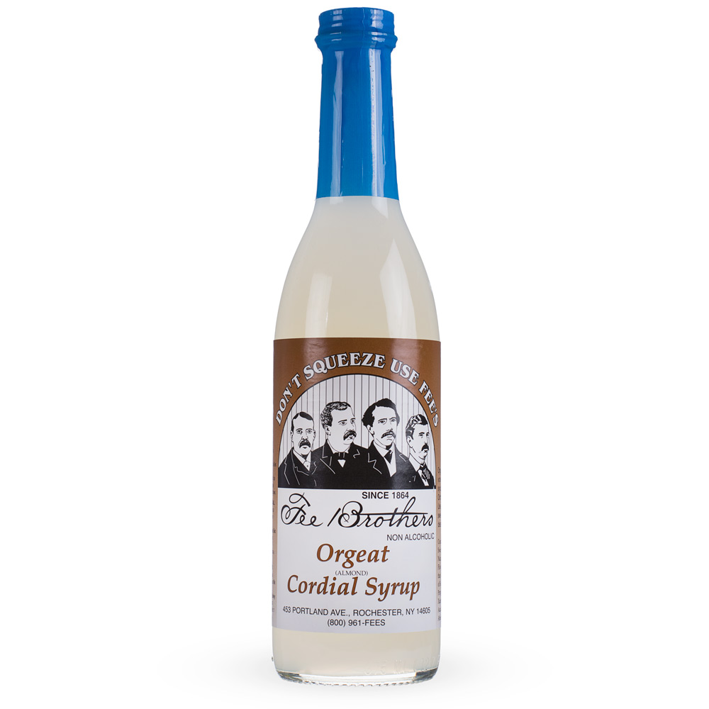 Fee Brothers Orgeat Almond Cordial Syrup - 12.7 oz