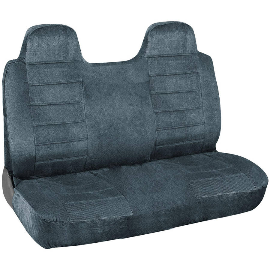 Pack of 1 Allison Corporation Allison 67-1919GRY Gray Diamond Back Large Bench Truck Seat Cover