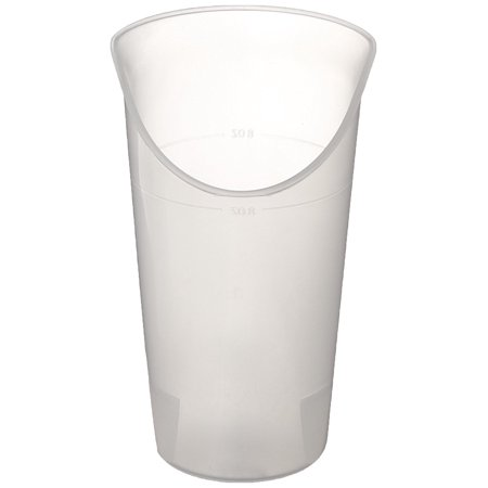 Ableware 745930014 Nosey Cup, Transparent, Drink with little or no neck movement By Maddak Inc Ship from (Ableware Nosey Cup)