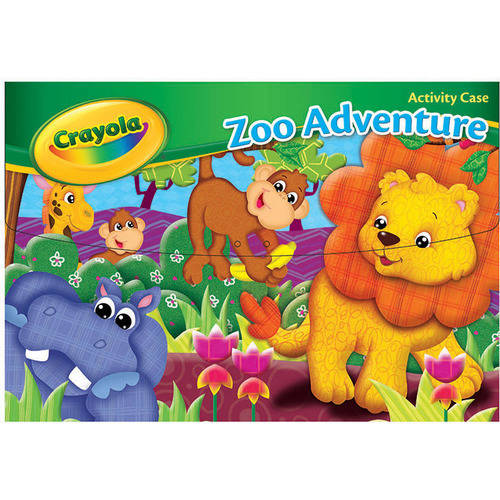 Crayola Zoo Activity Set with Carrying Case