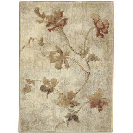 Nourison ST64-REC-10X13 Somerset 10' x 13' Rectangle Synthetic Power Loomed Traditional Area - Power Rub