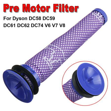 Pre Motor Filter Washable for Dyson DC59 DC61 DC62 DC74 V6 V7 V8 Vacuum Cleaner  - image 2 de 6