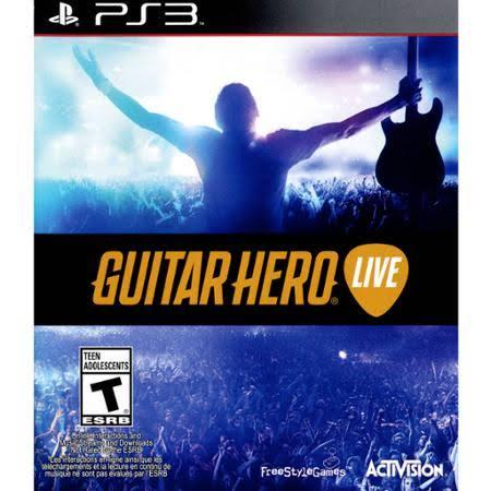 Guitar Hero: Live for PlayStation 3 (Game ONLY)
