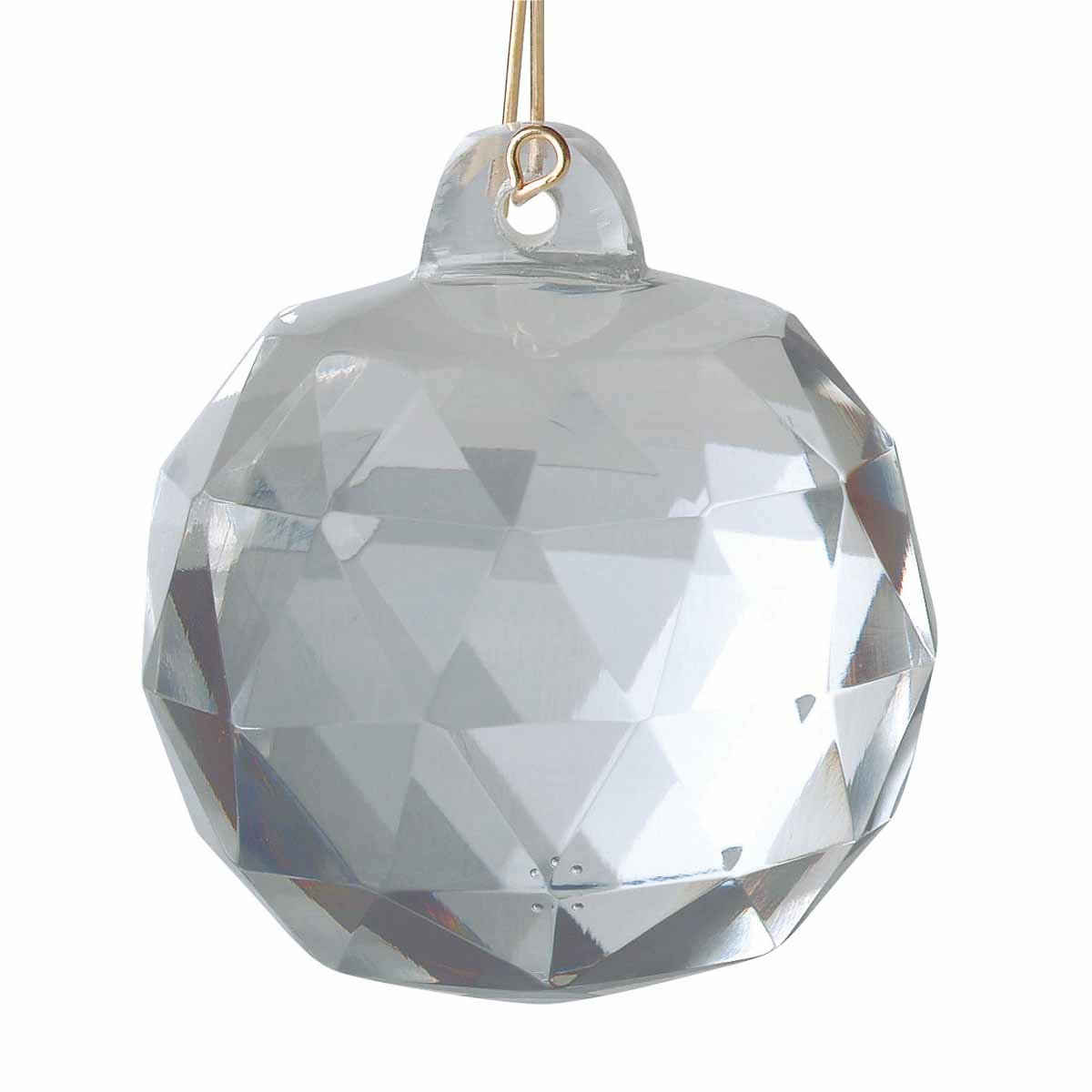 """Prisms Clear Crystal Ball 1 3/4"""" 