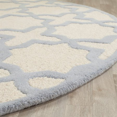 Safavieh Cambridge 6' Round Hand Tufted Wool Rug - image 5 of 9